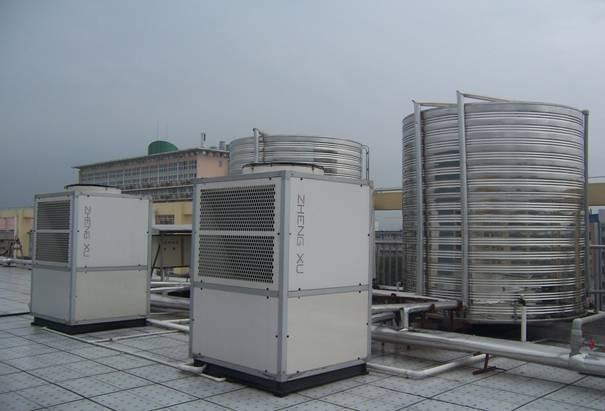 广西师大热泵热水工程