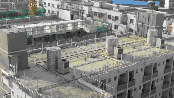 广西电力职业技术学院280T热水工程