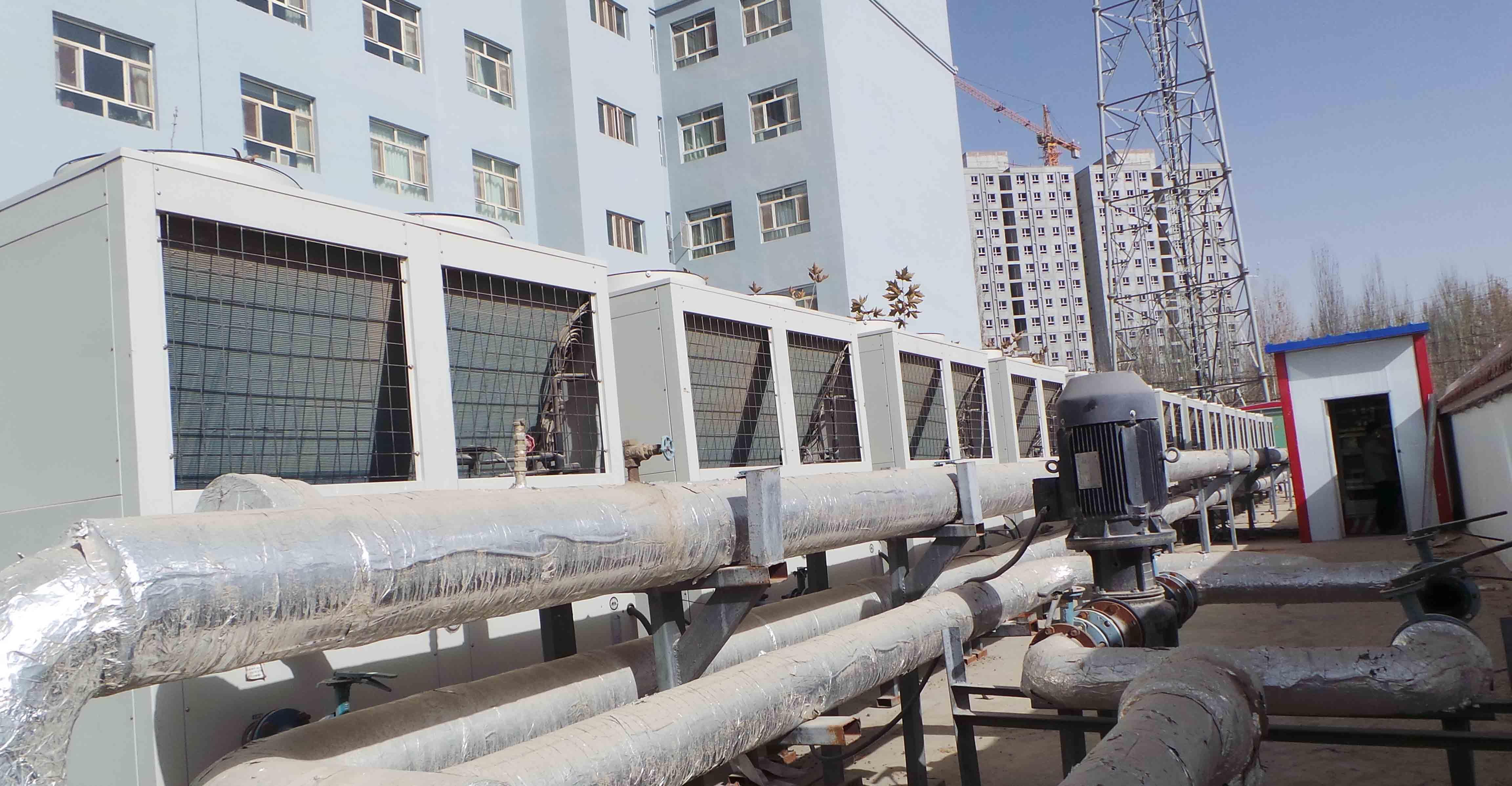100平米空气能热泵多少造价