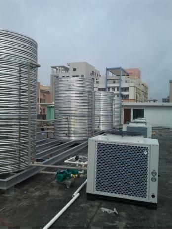 空气能热泵热水项目