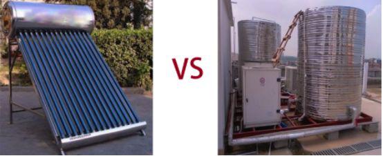 空气能热泵VS太阳能