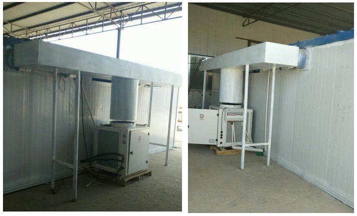 空气能热泵烘干机项目