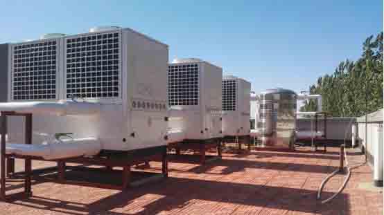新疆空气能采暖项目