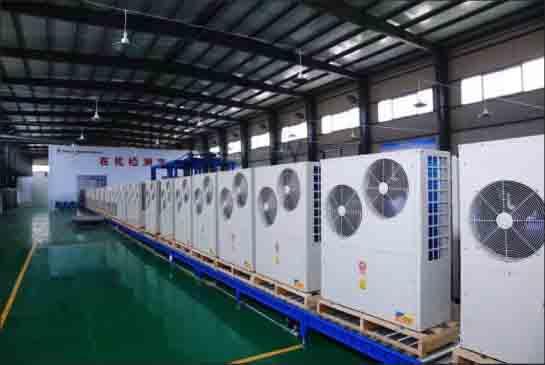 新疆空气能采暖项目落地