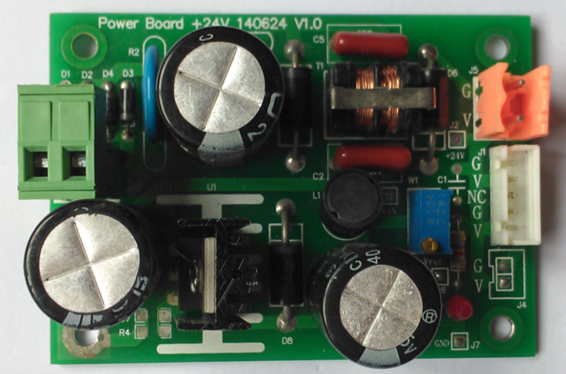 空气源热泵热水机组安装使用说明书——控制板操作图