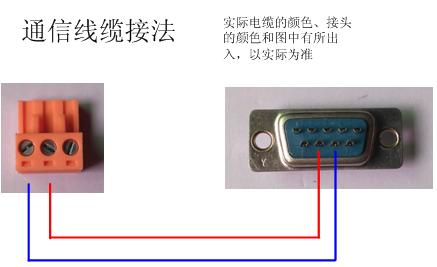 空气源热泵热水机组安装使用说明书——通信线接法示意图