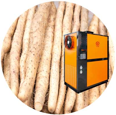 正旭空气能热泵烘干机淮山烘干机
